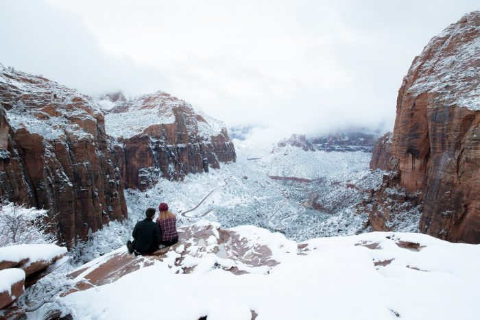 Engagement Proposal Ideas in Zion National Park, Utah