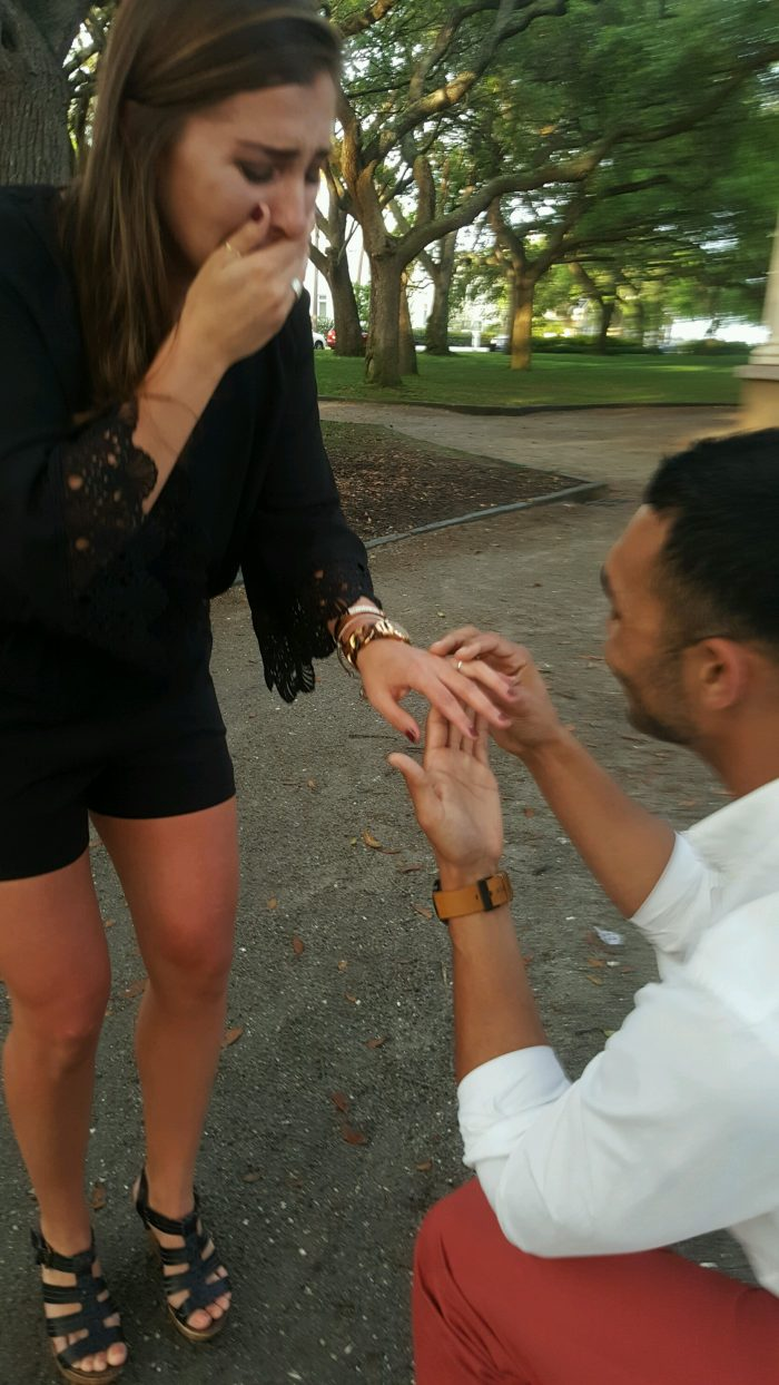 Kara and Jermaine's Engagement in Charleston, South Carolina