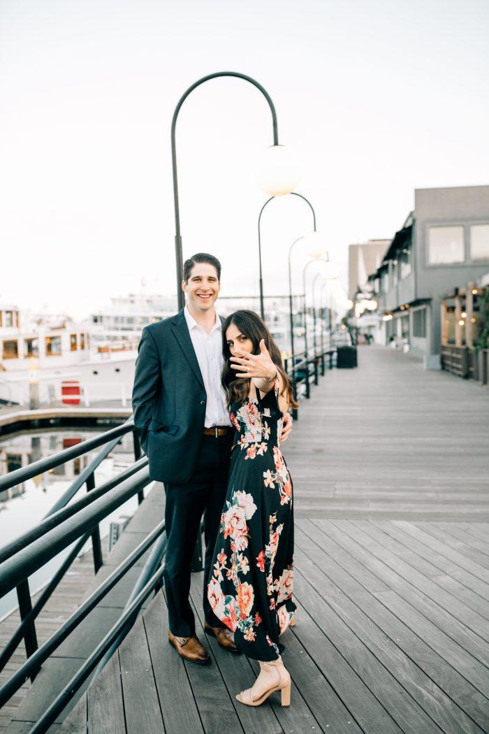 Engagement Proposal Ideas in Lido Island - Newport Beach, CA