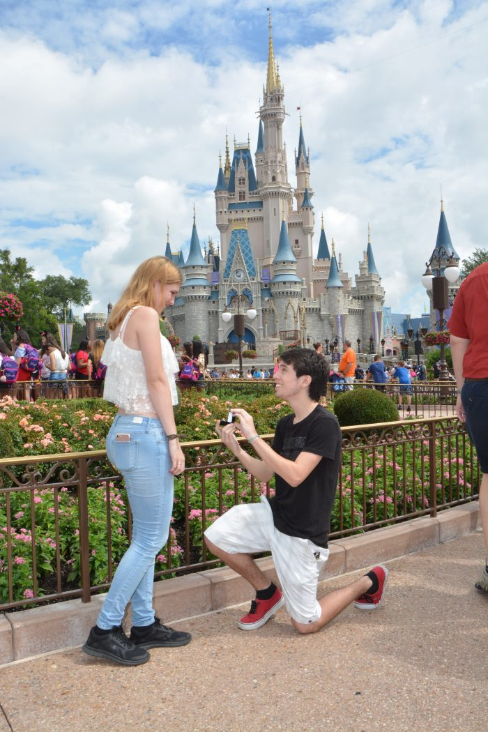 Engagement Proposal Ideas in Magic Kingdom, Disney World