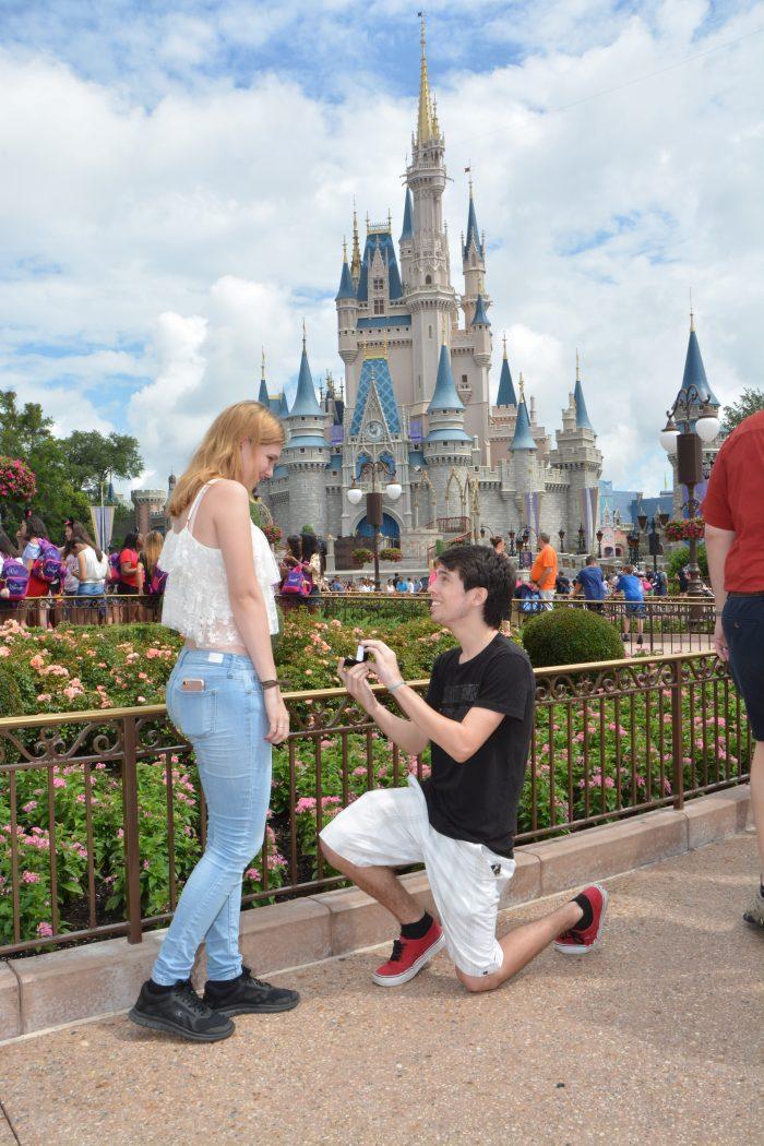 Engagement Proposal Ideas in Magic Kingdom, Disney World