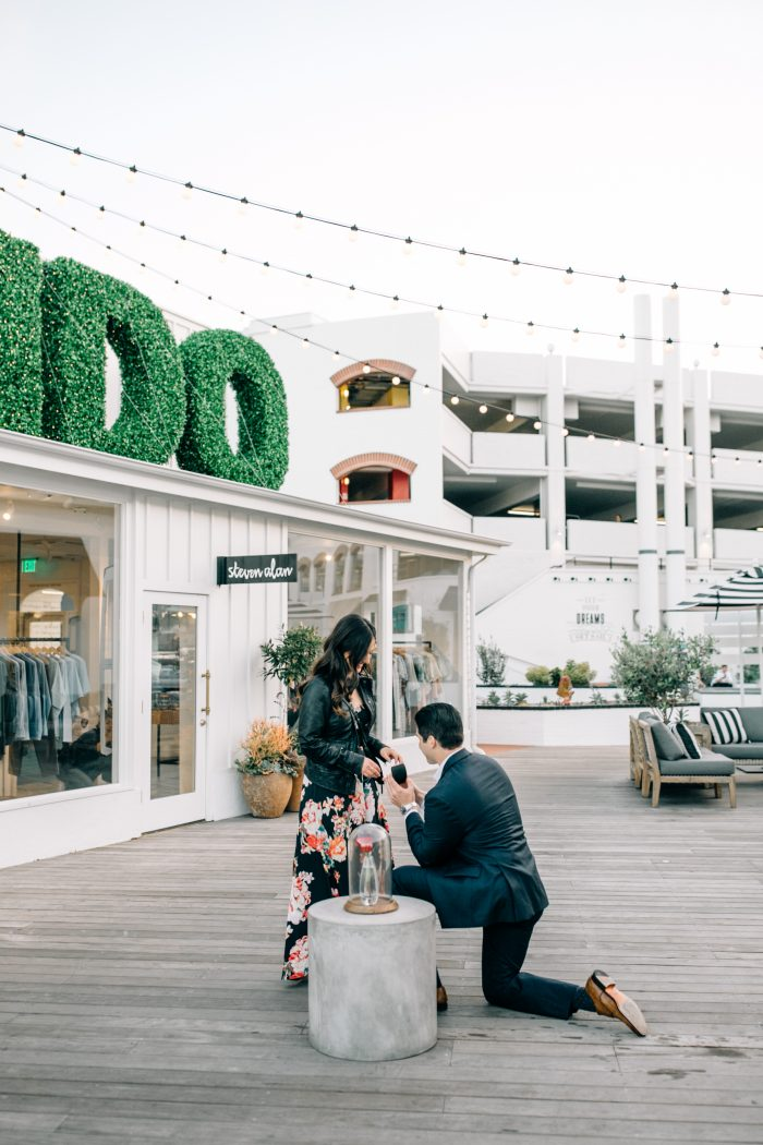 Victoria and Sam's Engagement in Lido Island - Newport Beach, CA