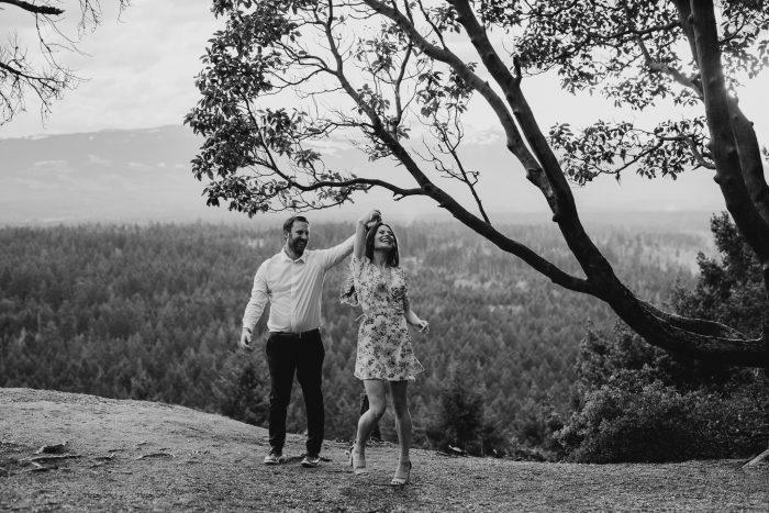 Stephen and Elizabeth's Engagement in Chilliwack Corn Maze