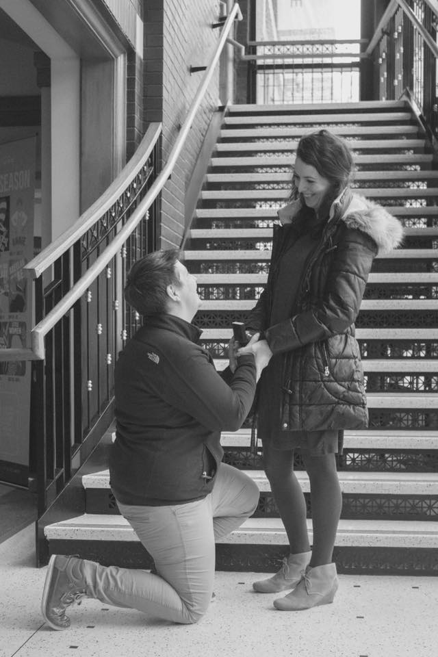 Wedding Proposal Ideas in Grand Rapids Civic Theatre