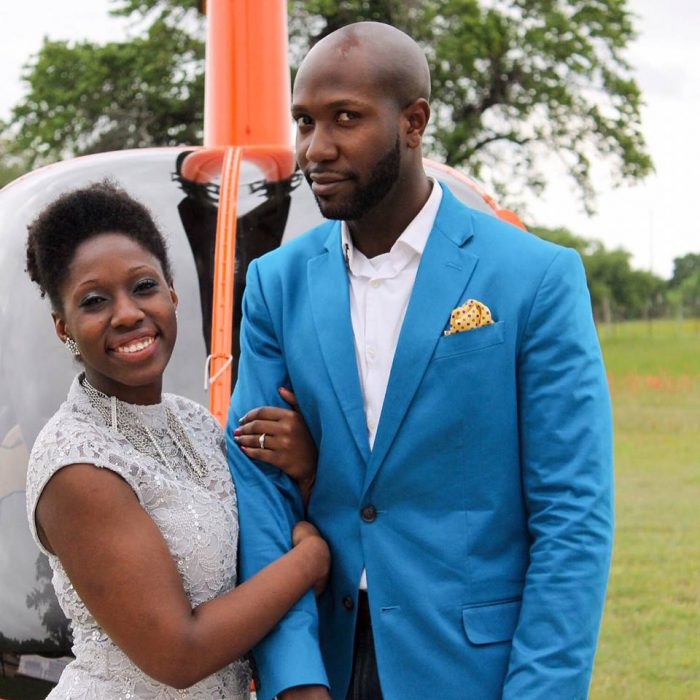 Terrance and Aundreia's Engagement in Austin, TX, Helicopter Tours