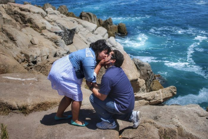 Tina's Proposal in Lovers Point, Pacific Grove CA