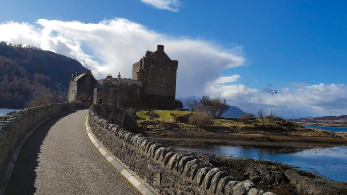 Ephraim and Heather's Engagement in Eilean Donan Castle, Scotland UK