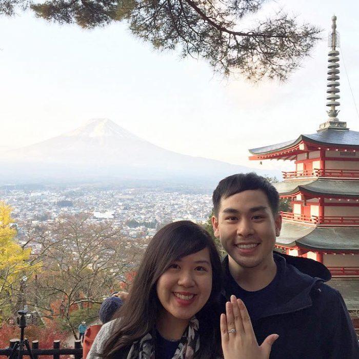 Wedding Proposal Ideas in Kawaguchiko, Japan