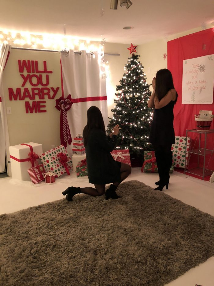 Christmas Eve Marriage Proposal Ideas