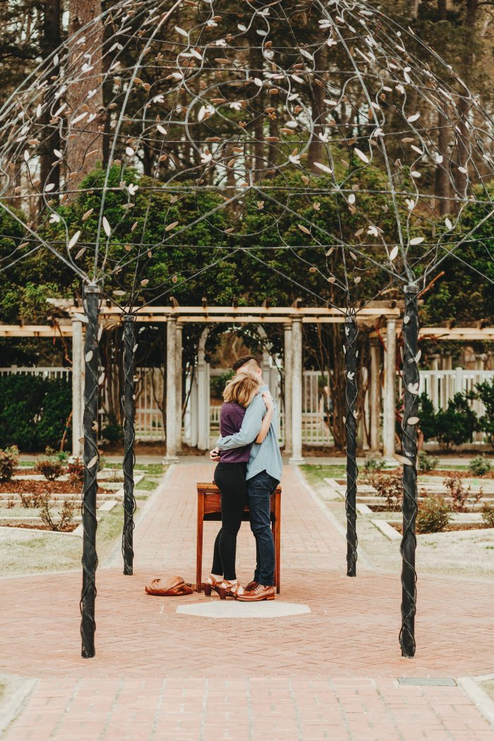 Engagement Proposal Ideas in Birmingham Botanical Gardens, Birmingham, AL