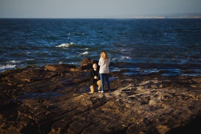 Engagement Proposal Ideas in La jolla cliffs Ca