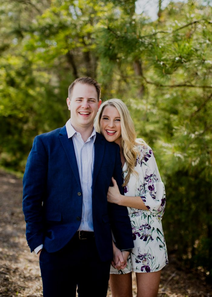 Morgan and Jay's Engagement in Greenville, SC