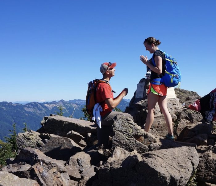 Where to Propose in Mailbox Peak