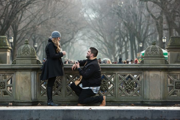 Michael's Proposal in Central Park, NYC