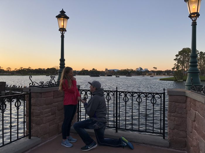 Melissa's Proposal in Disney World