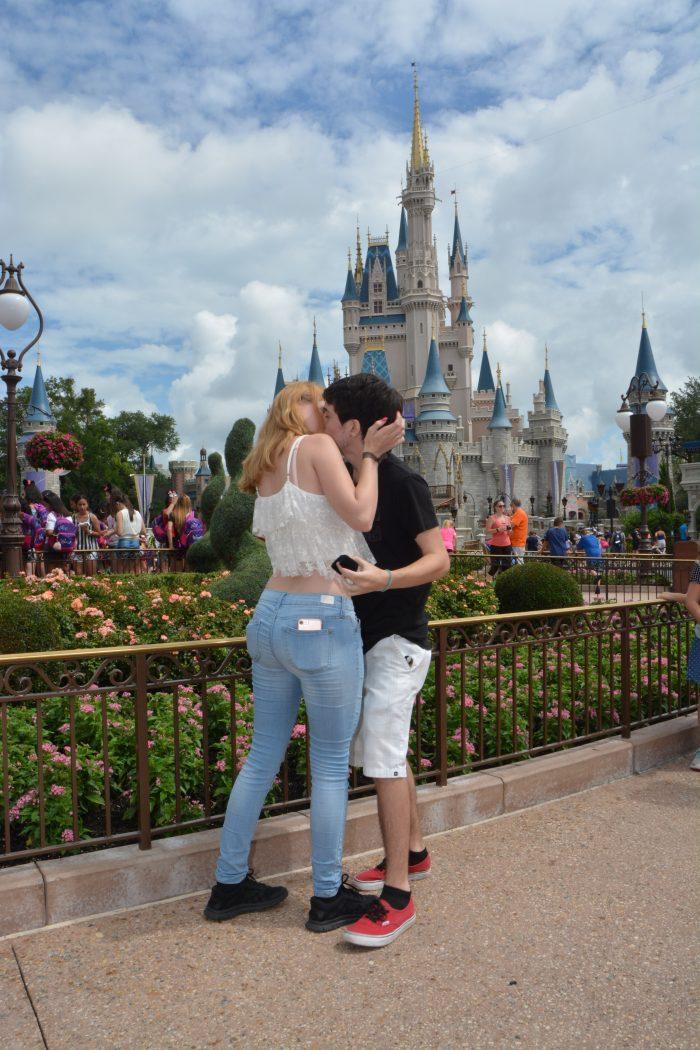 Amy's Proposal in Magic Kingdom, Disney World