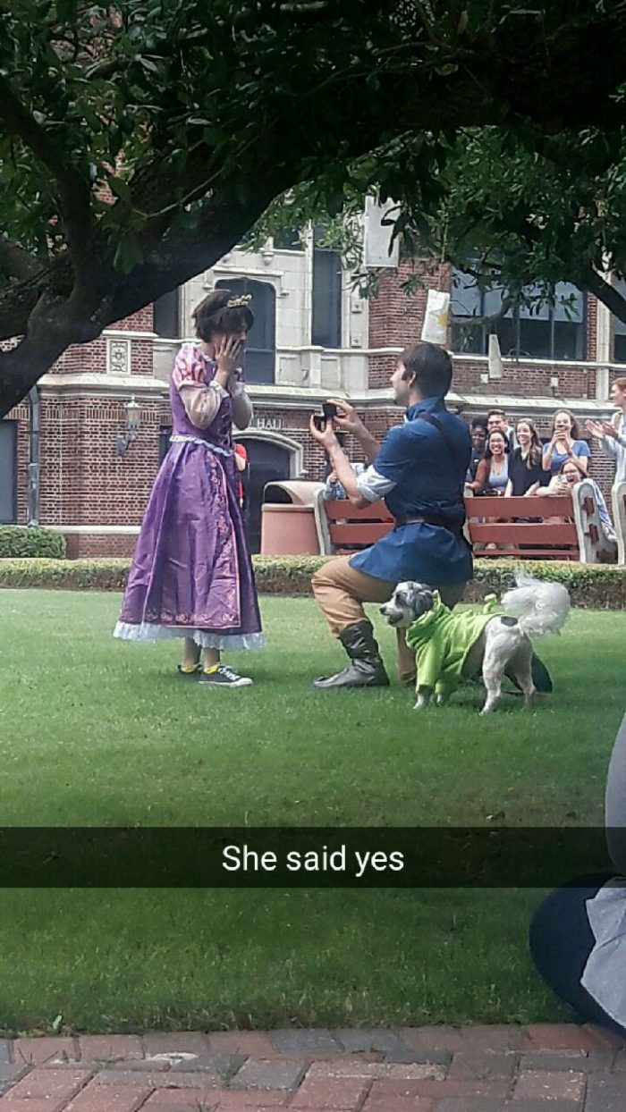 Where to Propose in Loyola University New Orleans