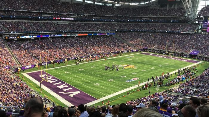 Marriage Proposal Ideas in At the US Bank Stadium in Minneapolis, Minnesota