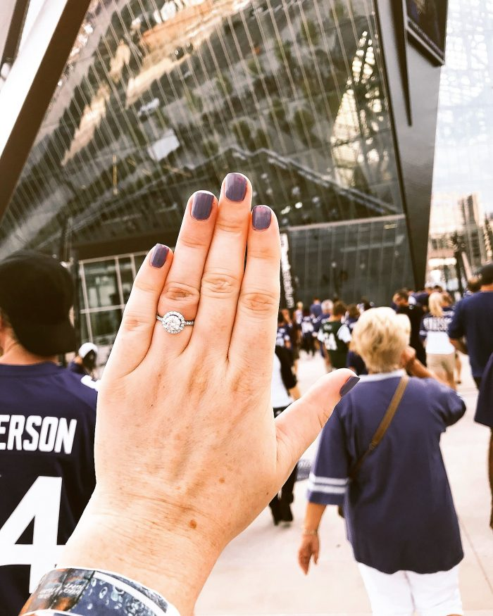 Proposal Ideas At the US Bank Stadium in Minneapolis, Minnesota