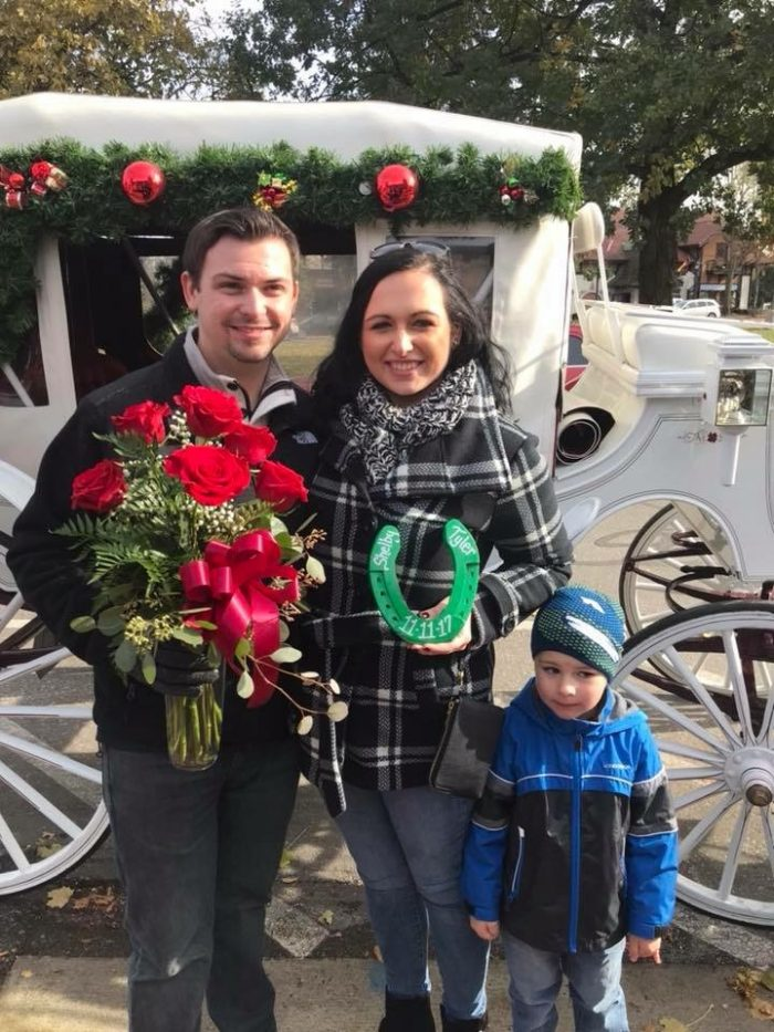 Shelby's Proposal in Frankenmuth, Michigan