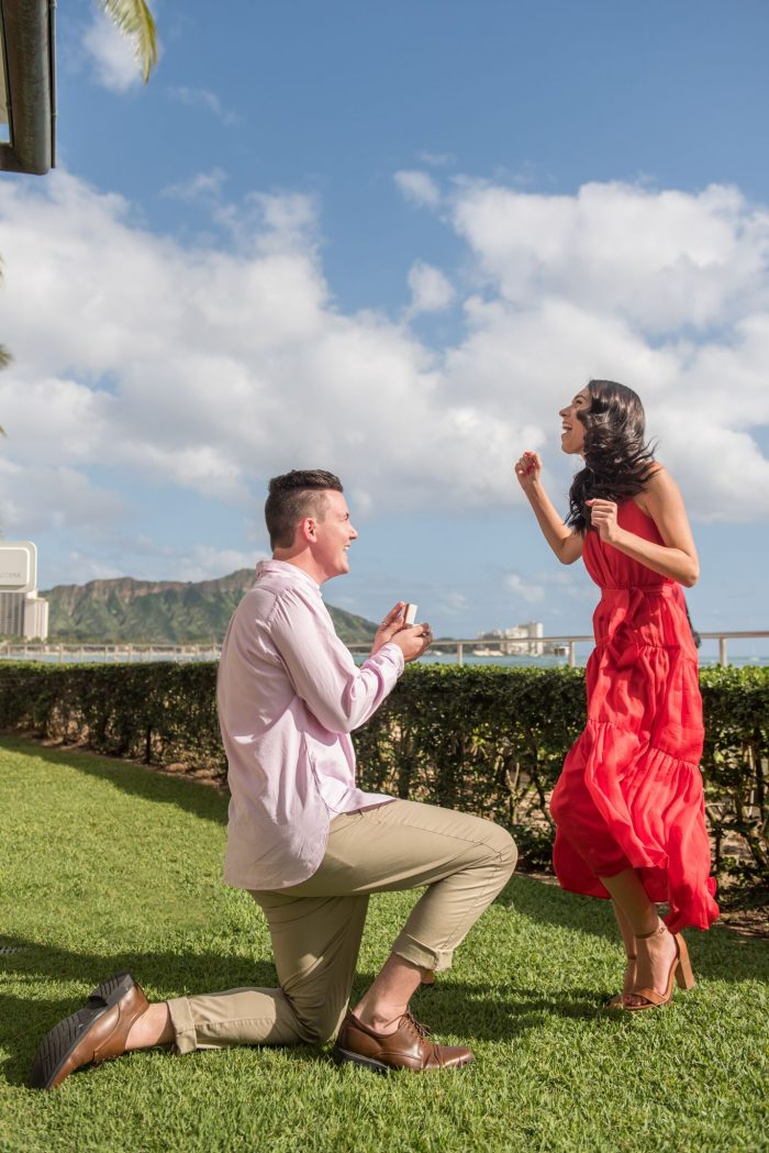 Laura and Jake's Engagement in Honolulu, Hawaii
