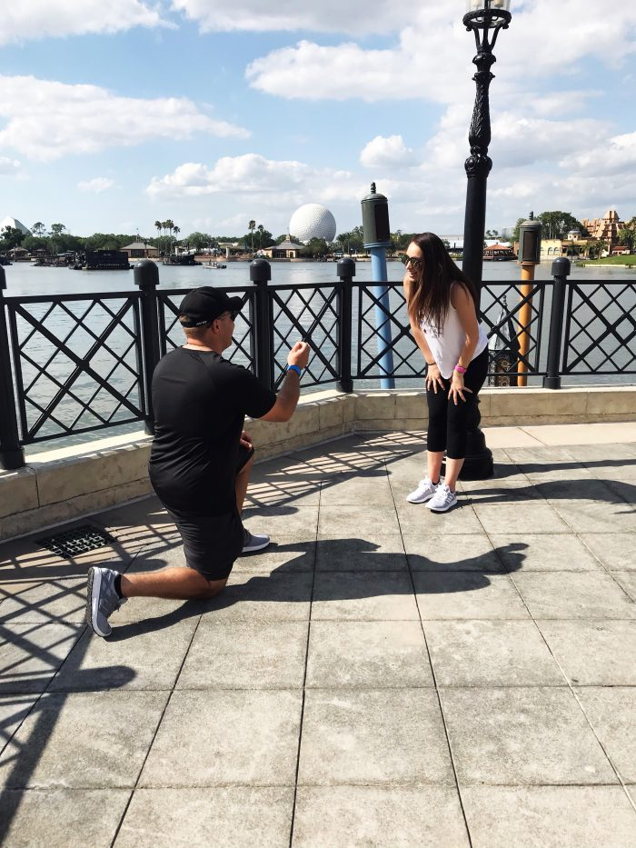 Paige's Proposal in Epcot