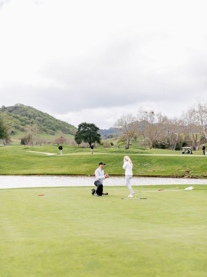 Wedding Proposal Ideas in Rosewood CordeValle, San Martin CA
