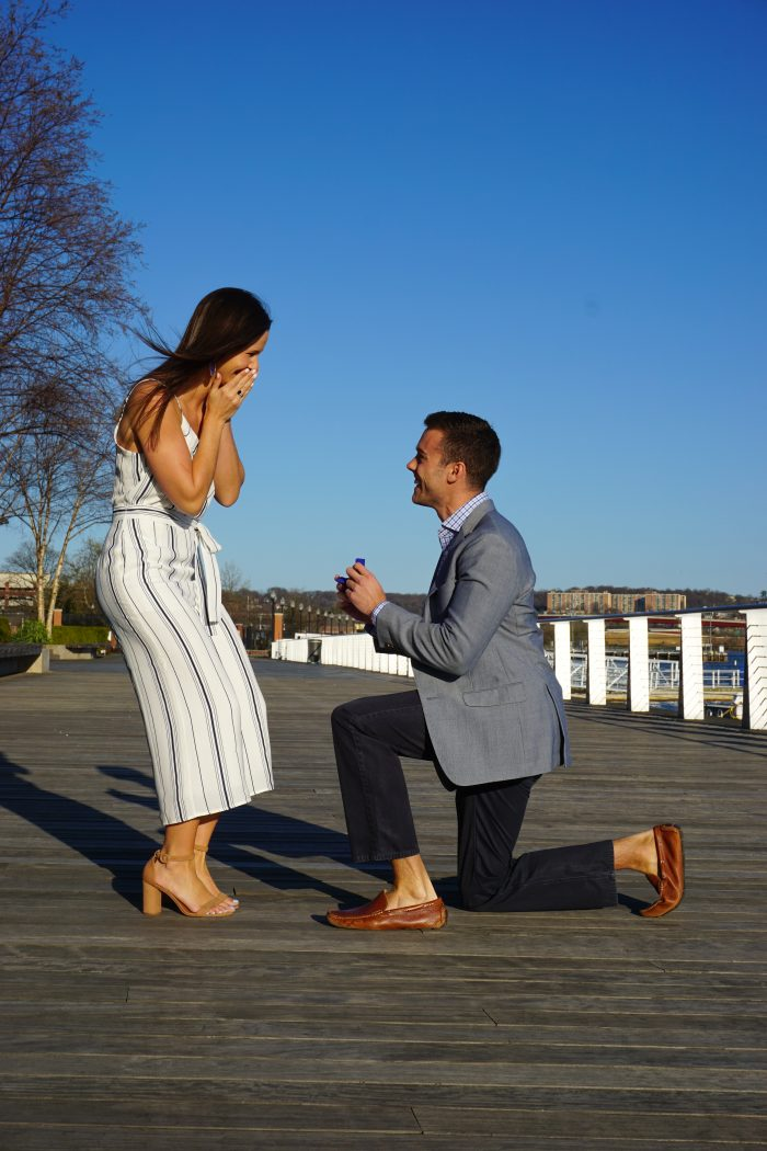 Engagement Proposal Ideas in The Yards on Anacostia River