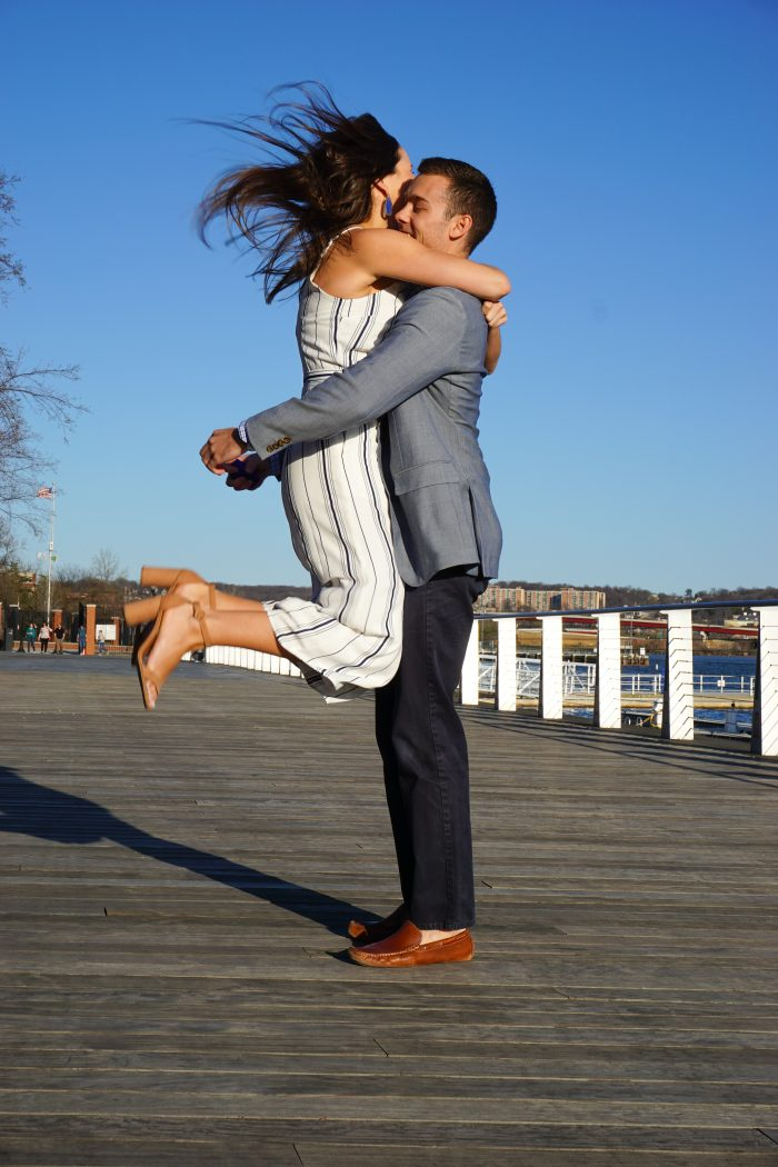 Wedding Proposal Ideas in The Yards on Anacostia River