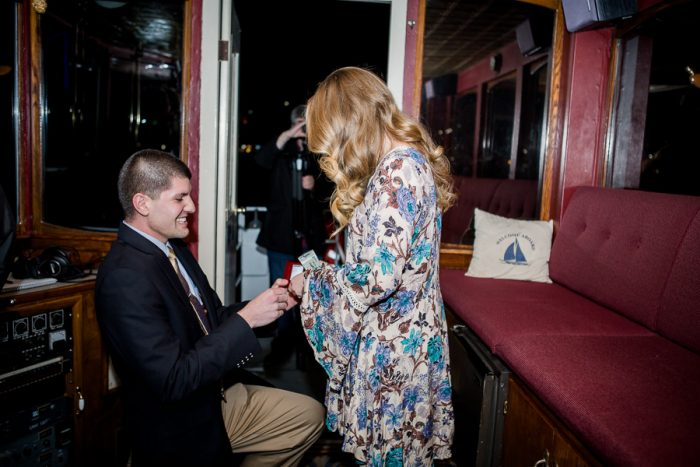 Wedding Proposal Ideas in Southern Belle Riverboat Chattanooga, TN