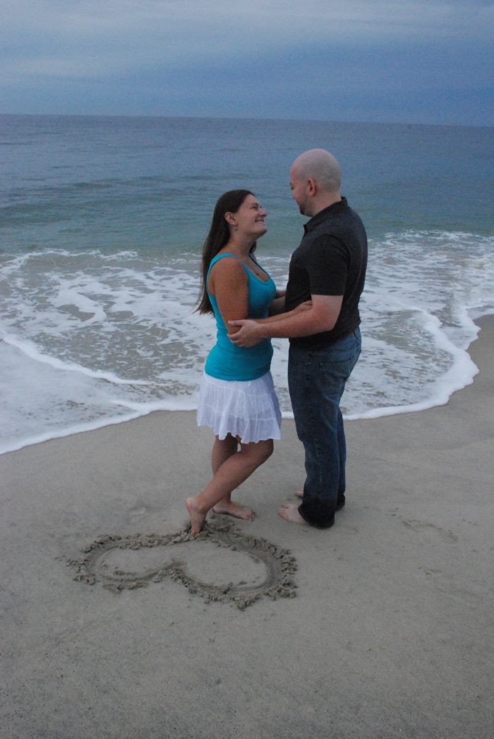 Engagement Proposal Ideas in A beach near our home town