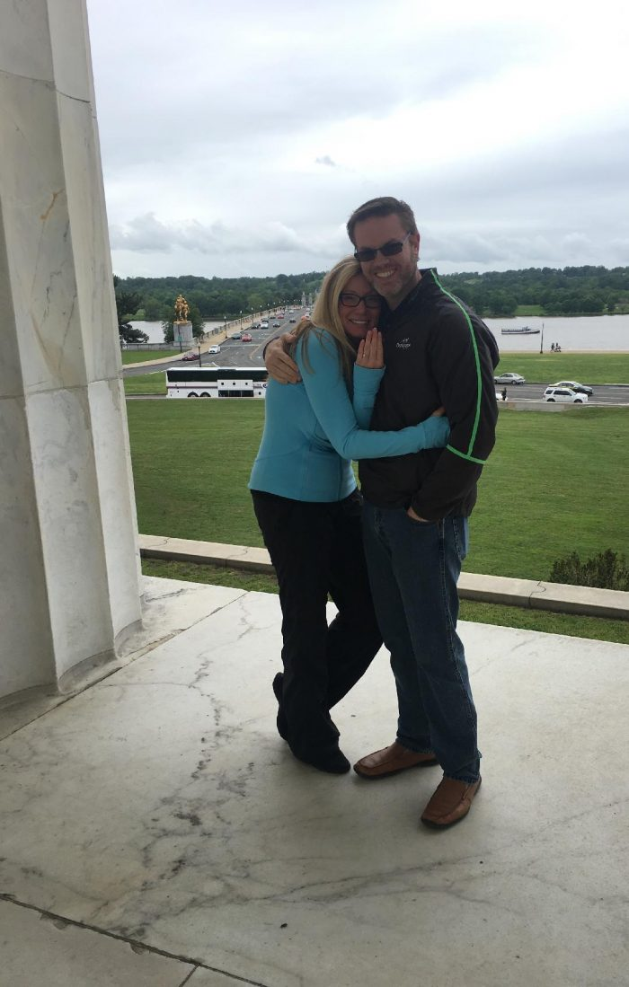 Marriage Proposal Ideas in Lincoln Memorial