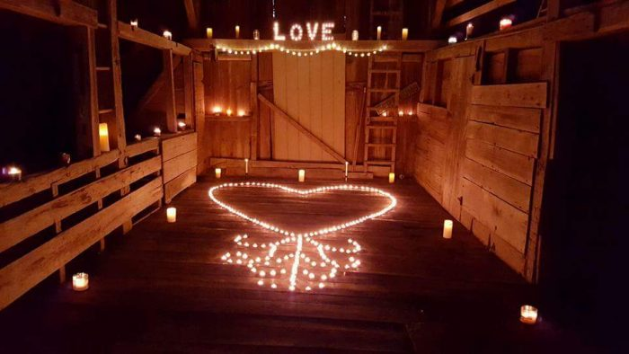 Engagement Proposal Ideas in In our barn
