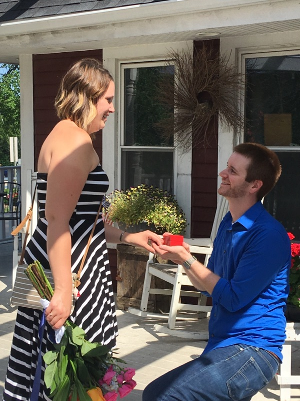 Wedding Proposal Ideas in The Gingerbread House
