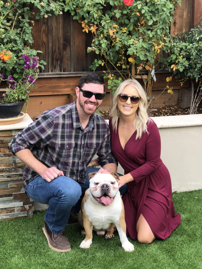 Sierra and Brett's Engagement in Rosewood CordeValle, San Martin CA