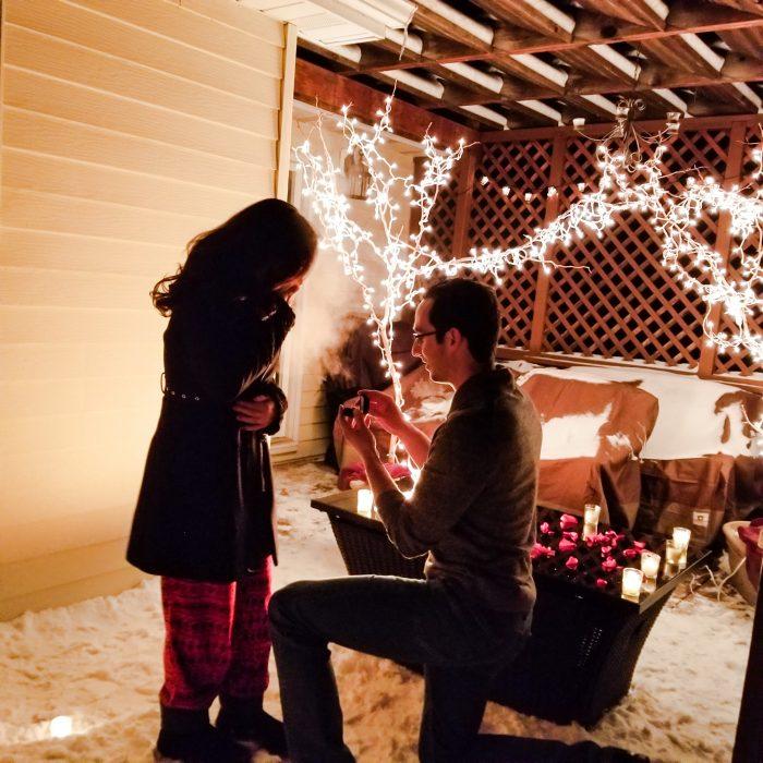 Jenny's Proposal in Cody Wyoming