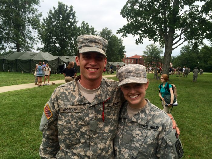 Alexandra's Proposal in Fort Rucker, Alabama