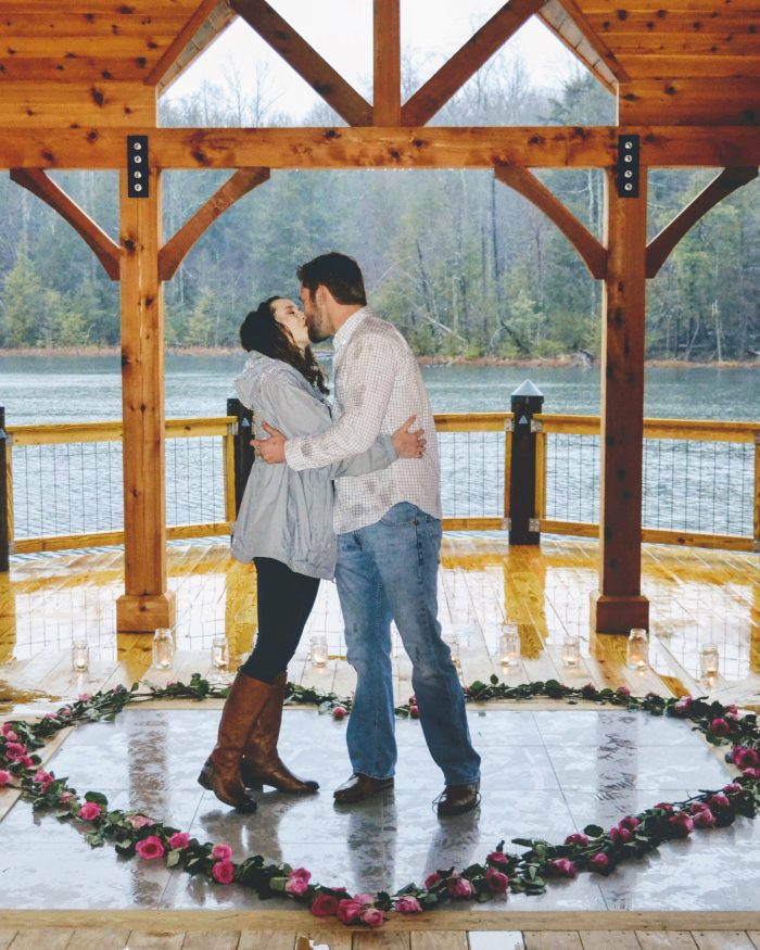 Where to Propose in Bays Mountain Park and Planetarium, Kingsport, Tennessee