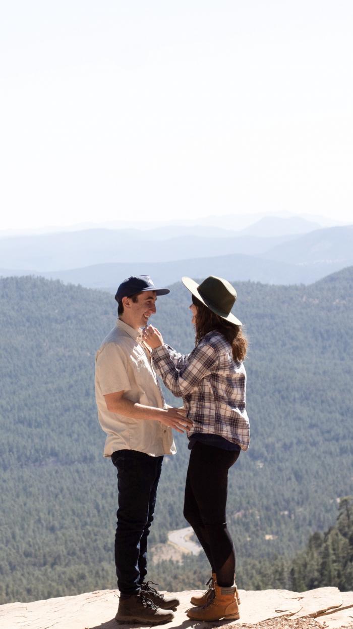 Wedding Proposal Ideas in Mogollon Rim, Arizona