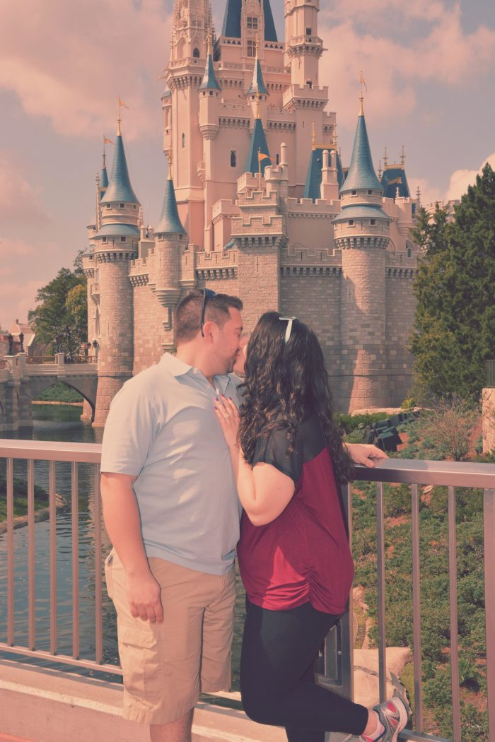 Alicia and Alexander's Engagement in Walt Disney World