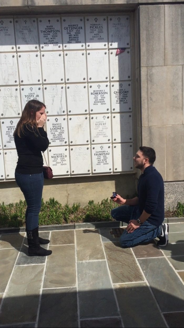 Wedding Proposal Ideas in Arlington National Cemetery
