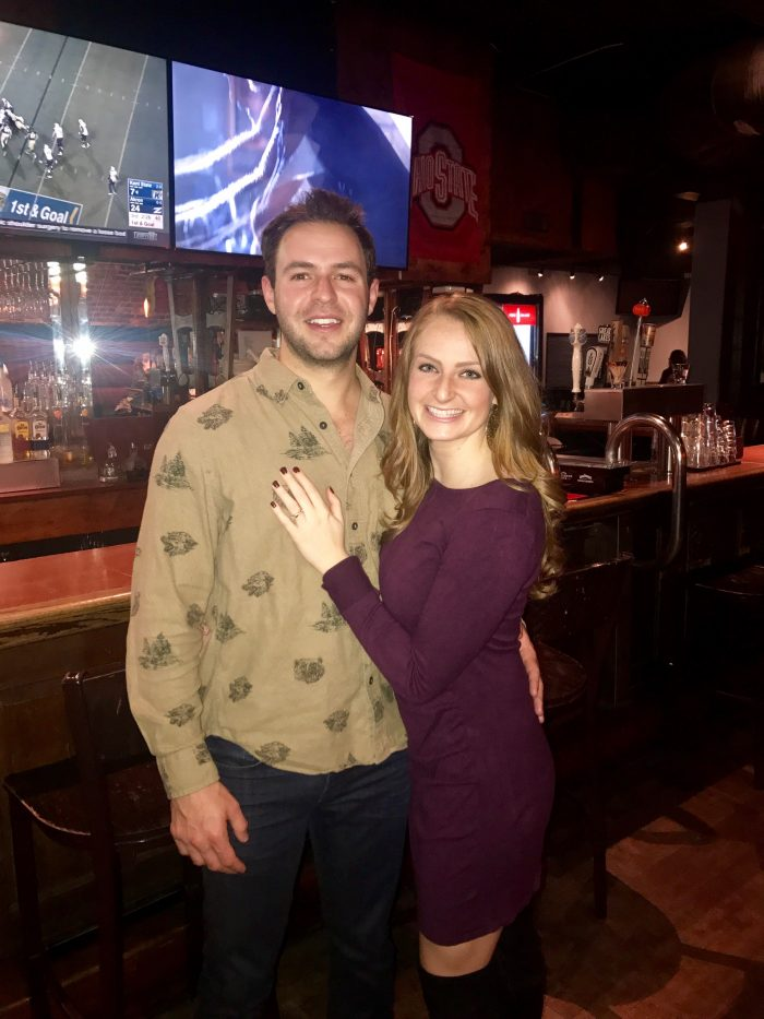 Where to Propose in Hocking Hills, OH