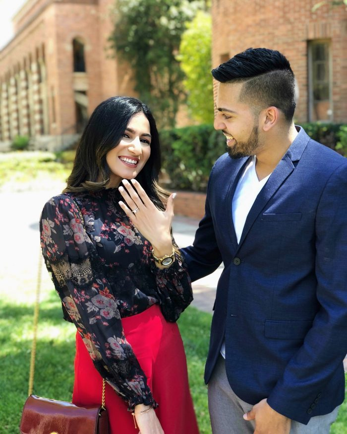 Zainab's Proposal in UCLA Royce Hall