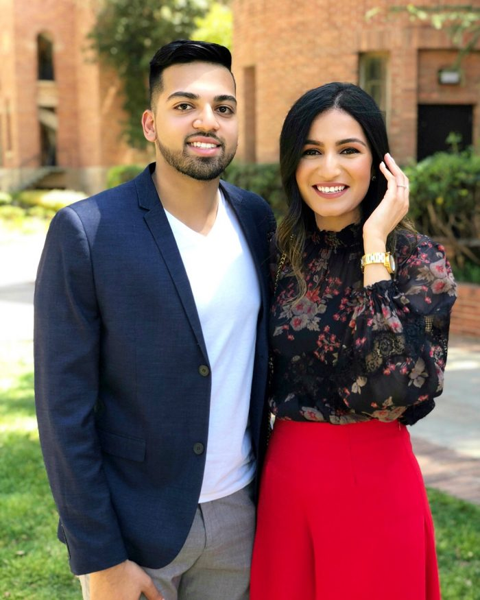 Zainab and Fatir's Engagement in UCLA Royce Hall