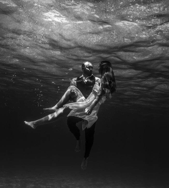 Where to Propose in Underwater on the West side of Oahu