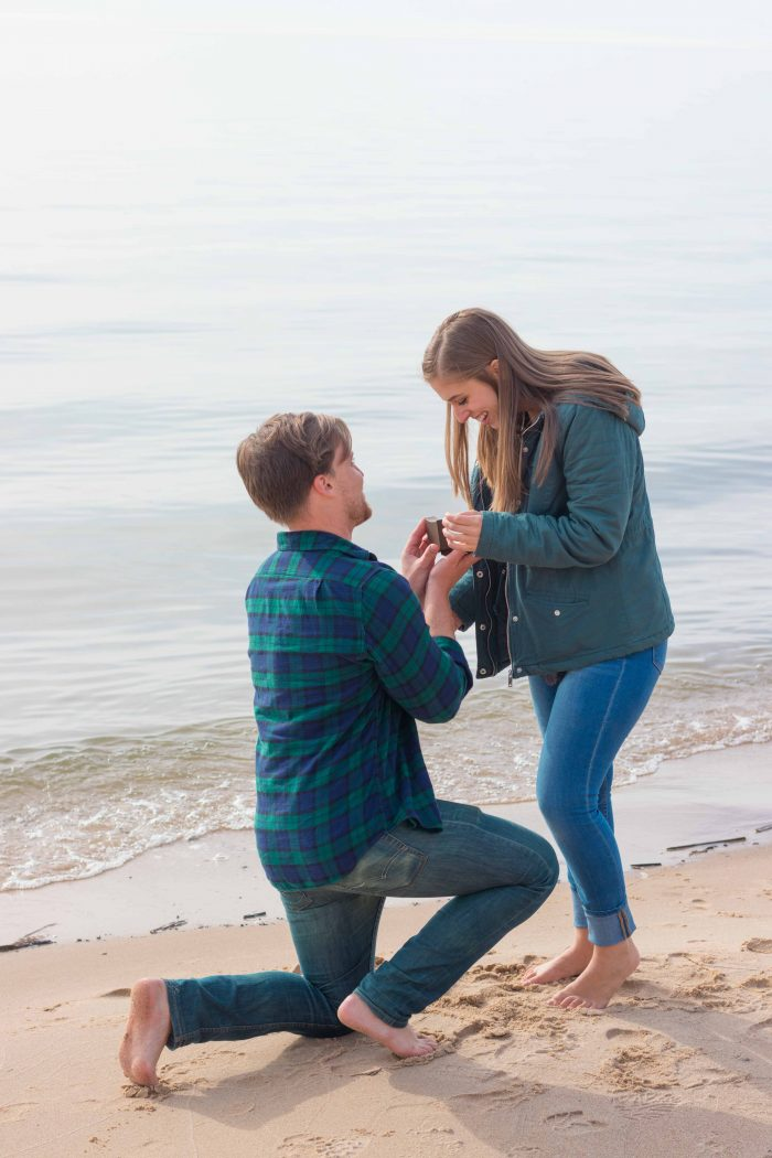 Where to Propose in Lake Michigan, near Grand Haven, Michigan