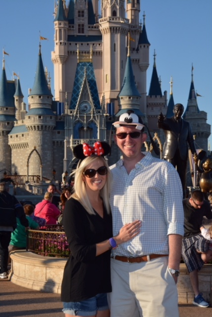 Wedding Proposal Ideas in Cinderella's Castle at Walt Disney World