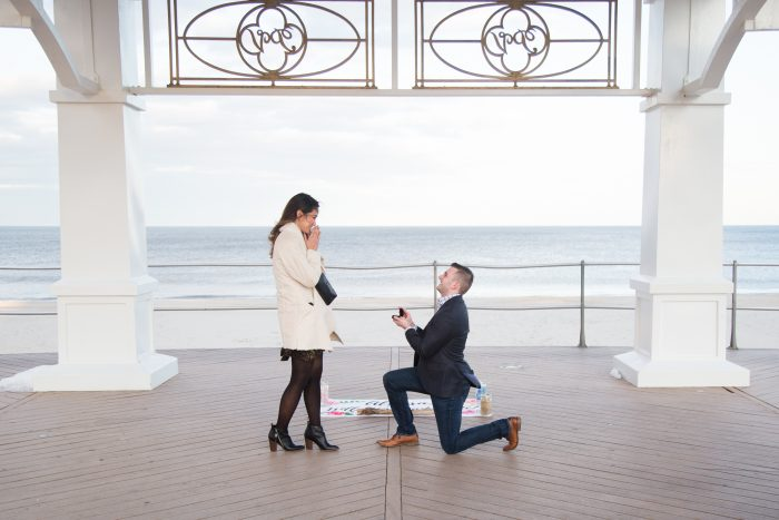 Engagement Proposal Ideas in Pier Village, Long Branch NJ