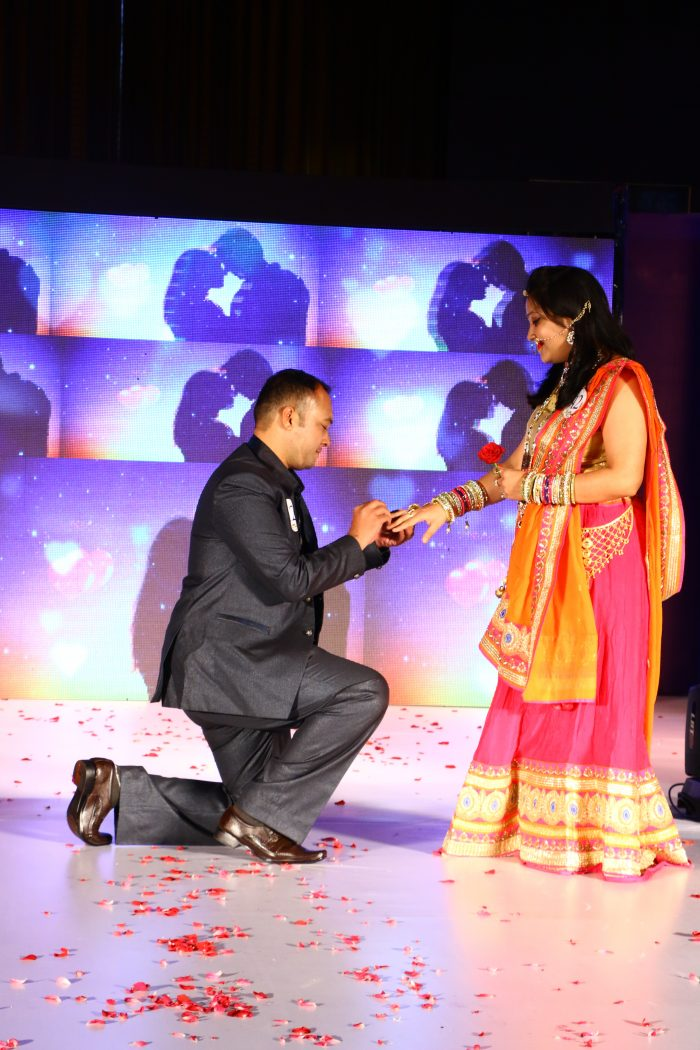 Engagement Proposal Ideas in Bombay Hospital Indore