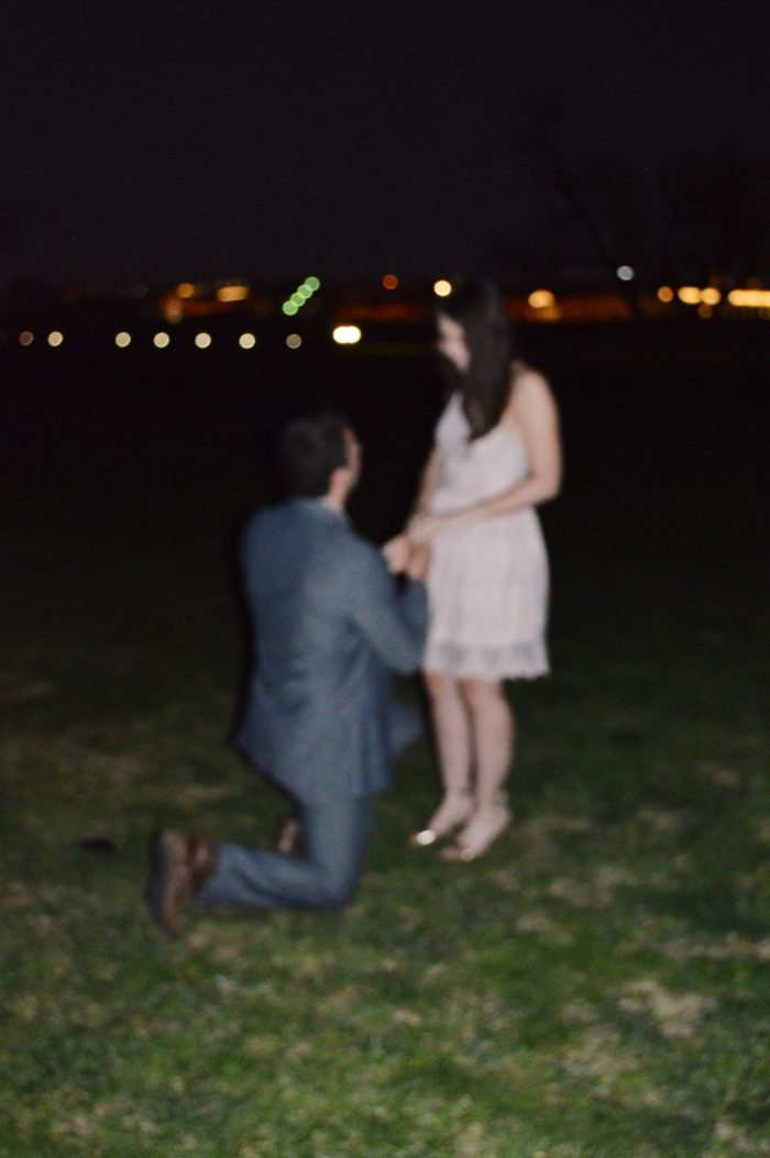 Where to Propose in the washington monument